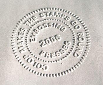Sellos en seco o sellos en relieve, ¿cuáles son sus utilidades?