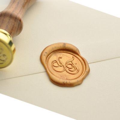 Sellos de lacre y otras ideas originales para cerrar sobres e invitaciones de boda