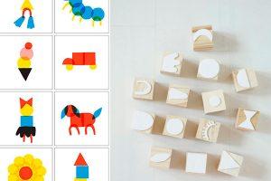 ¿Cómo hacer sellos caseros para niños?