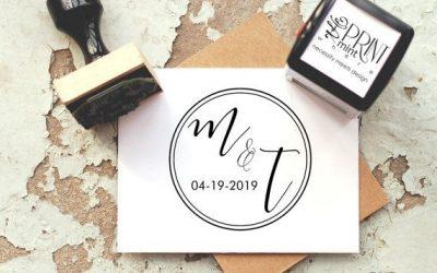 5 tips para elegir el sello de tu boda
