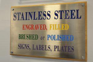 Tipos de placas grabadas
