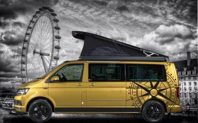 Ideas para personalizar furgonetas camper con vinilos y rótulos